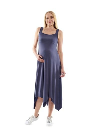 Uzun Hamile Elbisesi-Motherway Maternity
